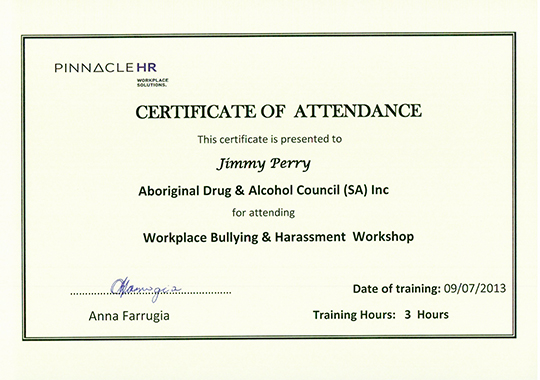 Workplace Bullying & Harassment Workshop