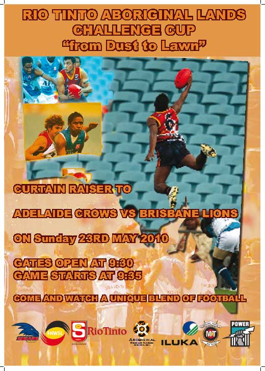 Cutain Raiser to Adelaide Crows Vs Brisbane Lions