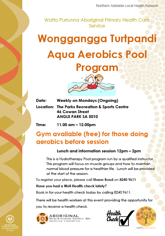 Wonggangga Turtpandi  Aqua Aerobics Pool Program