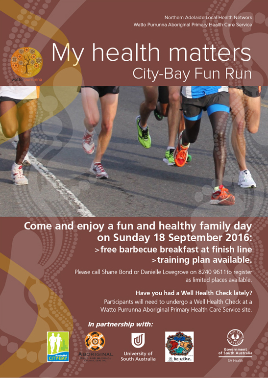My health matters City-Bay Fun Run