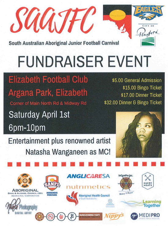 SAAJFC Fundraiser
