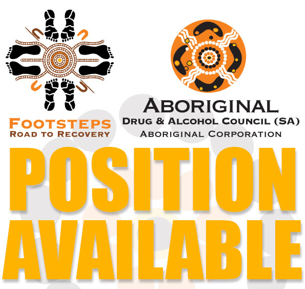 Positions Available at Footsteps - Road TO Recovery