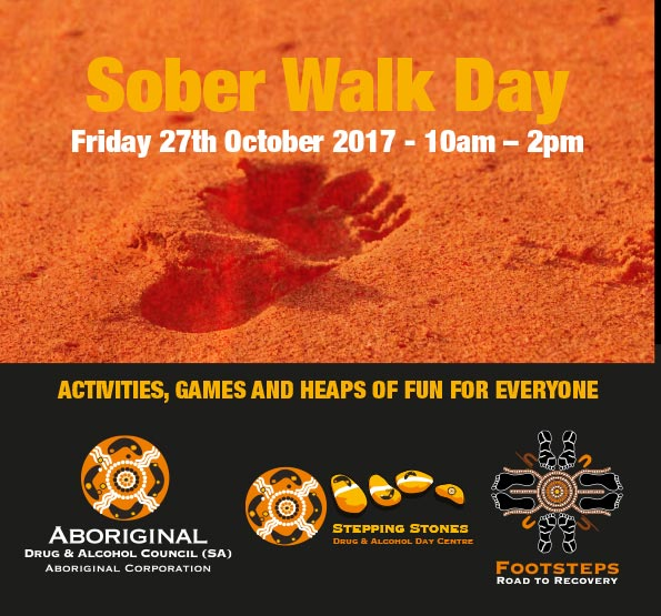 Sober Walk Day Friday the 27th October