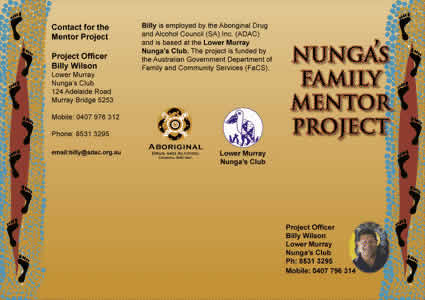 Nungas Family Mentor  - Leaflet