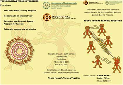 2008 Young Nungas Yarning Together - Leaflet